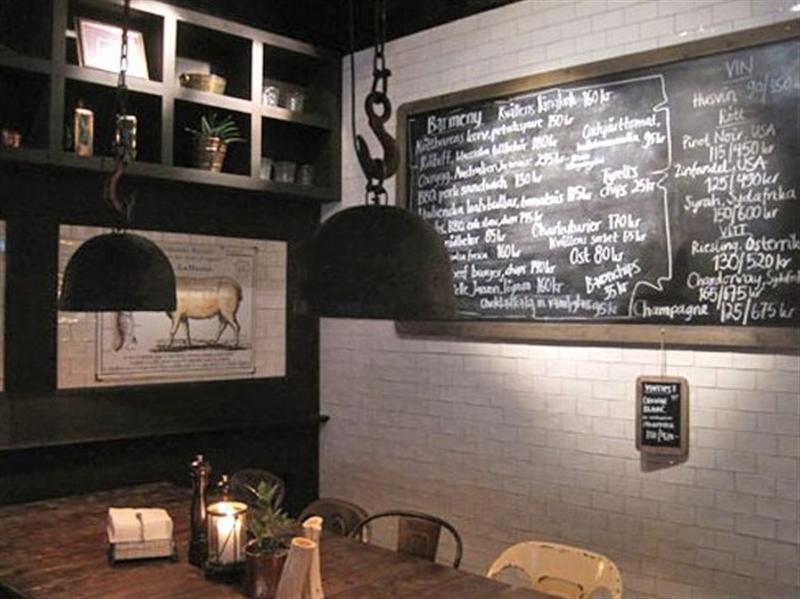Decoraci n de bares con pintura pizarra pinturas arte nuevo - Decoracion bares de tapas ...