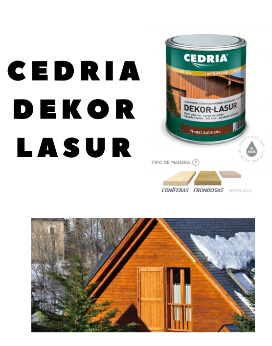 CEDRIA-DEKOR-LASUR