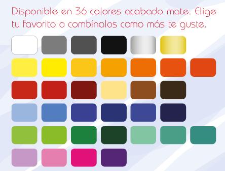 Abanico de colores p gina 2 for Catalogo de colores de pinturas