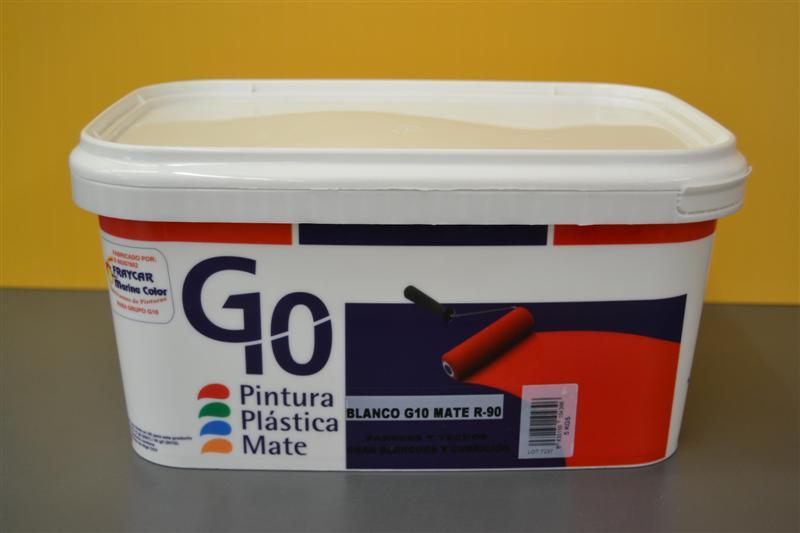 CUBETA G10 BLANCO MATE 5 KG.