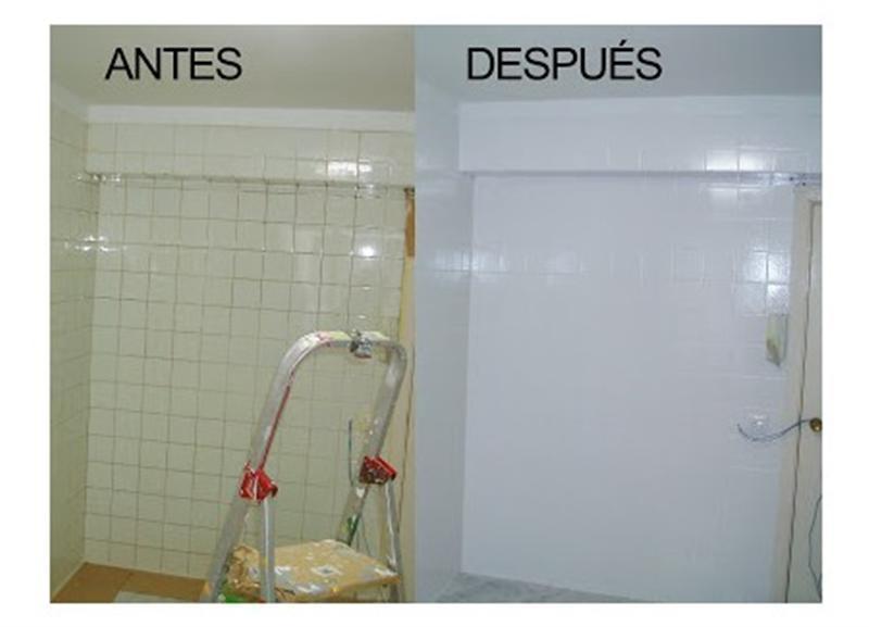Pintura de azulejo car interior design - Pintura azulejos colores ...