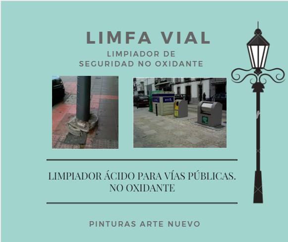 LIMFA VIAL-LIMPIADOR-ÁCIDO-VÍAS-PÚBLICAS