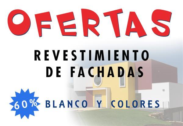 OFERTA REVESTIMIENTO FACHADAS 2013