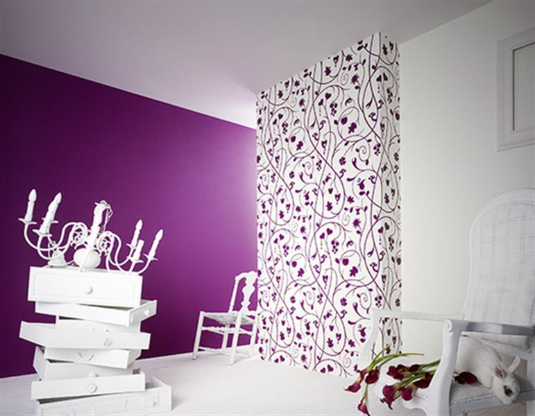 Decorar una tienda con papel pintado pinturas arte nuevo for Interior wallpaper designs india
