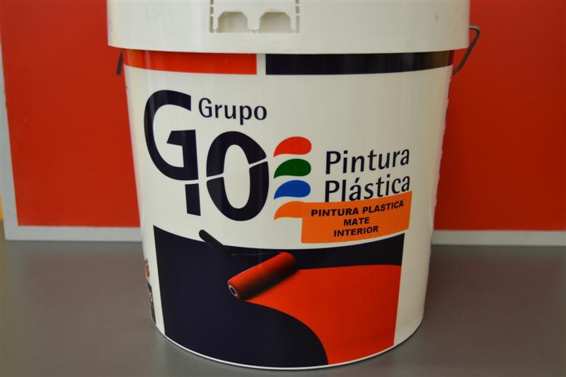PLASTICO MATE INTERIOR 23 KG.
