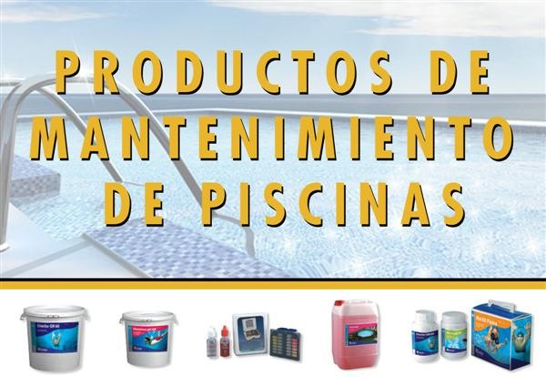 PRODUCTOS MANTENIMIENTO PISCINAS 2013