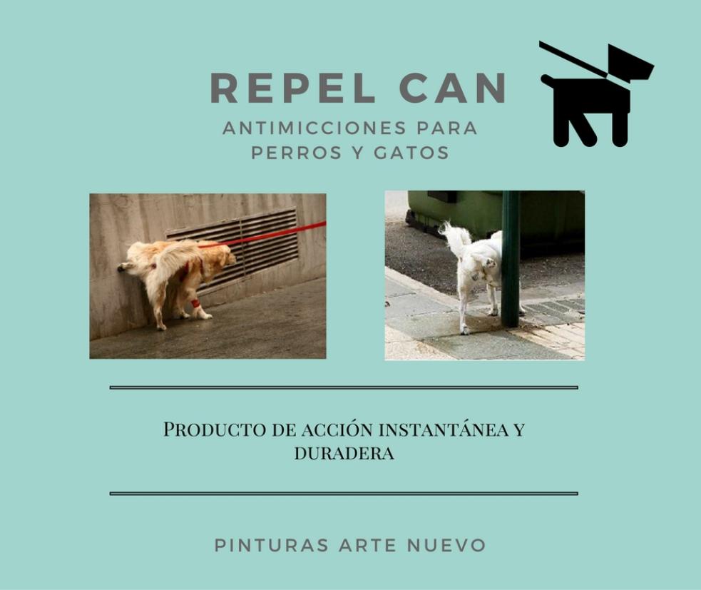 REPEL -CAN- ANTIMICCIONES-PERROS-GATOS