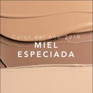 COLOR DEL AÑO 2019: MIEL ESPECIADA