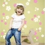 VINILO INFANTIL BLOSSOM FLOWERS 06