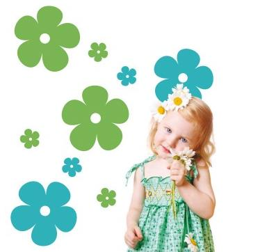 VINILO INFANTIL BLOSSOM FLOWERS XL 06