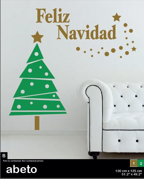 vinilo-navidad-abeto