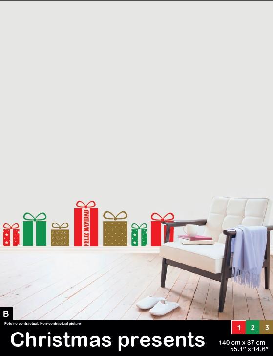 vinilo-navidad-crhistmas-presents