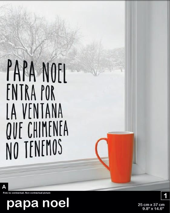 vinilo-navidad-papa-noel