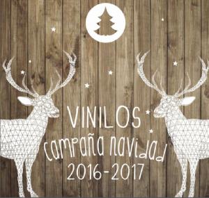 VINILOS DECORATIVOS DE NAVIDAD 2016-2017