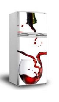 Como decorar la nevera con vinilos pinturas arte nuevo for Vinilos decorativos en monterrey